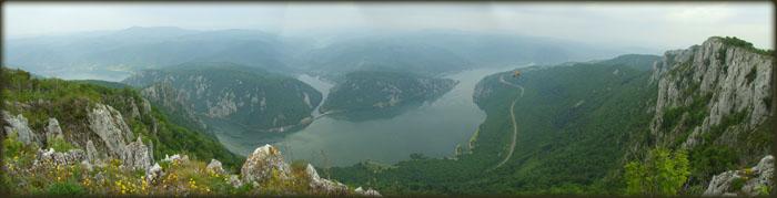 Panorama Dunava sa Malog Štrpca