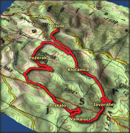 lisine mapa Freebiking Atlas   Kučaj, Beljanica, Malinik, Samanjac i Rtanj lisine mapa