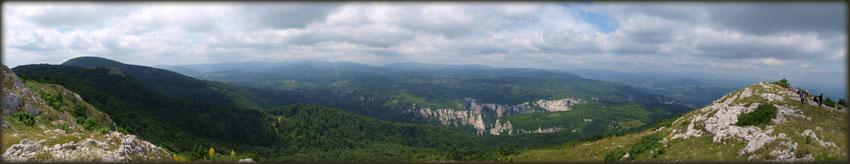 Гребен Малиника и Лазарев кањон