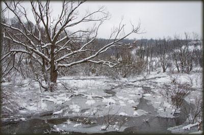 Dolina Demižloka pretvorena u jezero sa santama leda