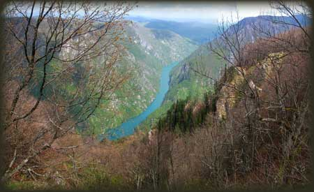 Pogled na Drinu sa Velikog Kraja
