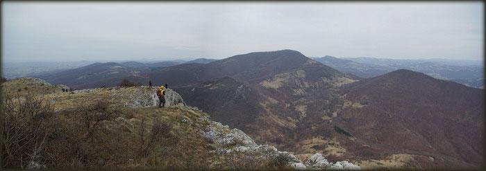 Panorama Velikog Sumorovca i Vranja, sa Vukana