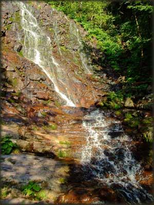 Donji Piljski vodopad, detalj
