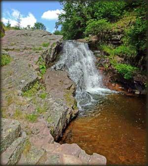 Vodopad na početku Arbinja