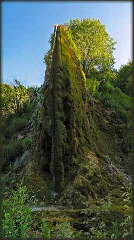 Vodopad Prskalo, po retko lepom danu