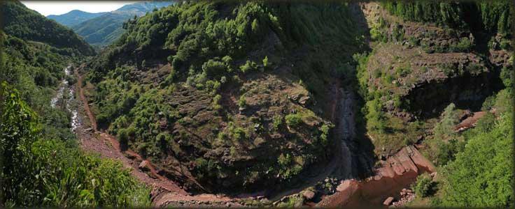 Javorska reka, iznad Toplog Dola