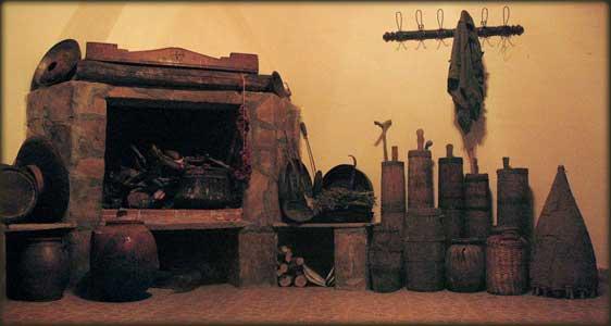 Sergejev kamin, stapovi i drugi sakupljeni predmeti