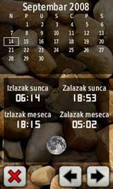 Kalendar kretanja Sunca i Meseca