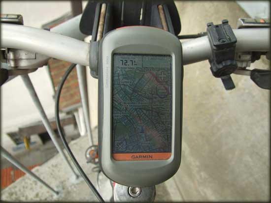 Lula je idealno mesto za montažu nosača za GPS na biciklu