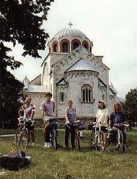 U manastiru Studenica