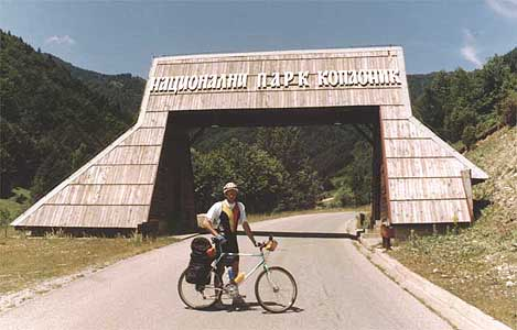 Ulaz u Nacionalni park Kopaonik