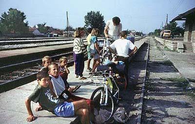 Na stanici u Klini (foto: Ilija)