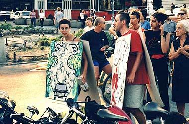 Pipa i Olek u akciji na Trgu (M)
