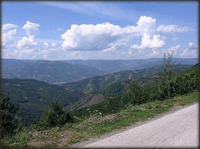 800 m spusta sa Jadovnika do Prijepolja