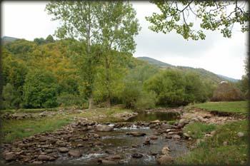 Dojkinačka reka iza planinarskog doma