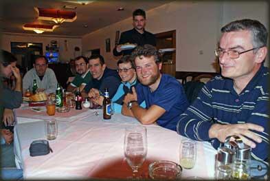Zajednička večera na dan okupljanja, u petak