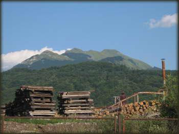 Biogradska Gora pogled iz Kolašina, sad se kajem što se nisam uspeo do gore
